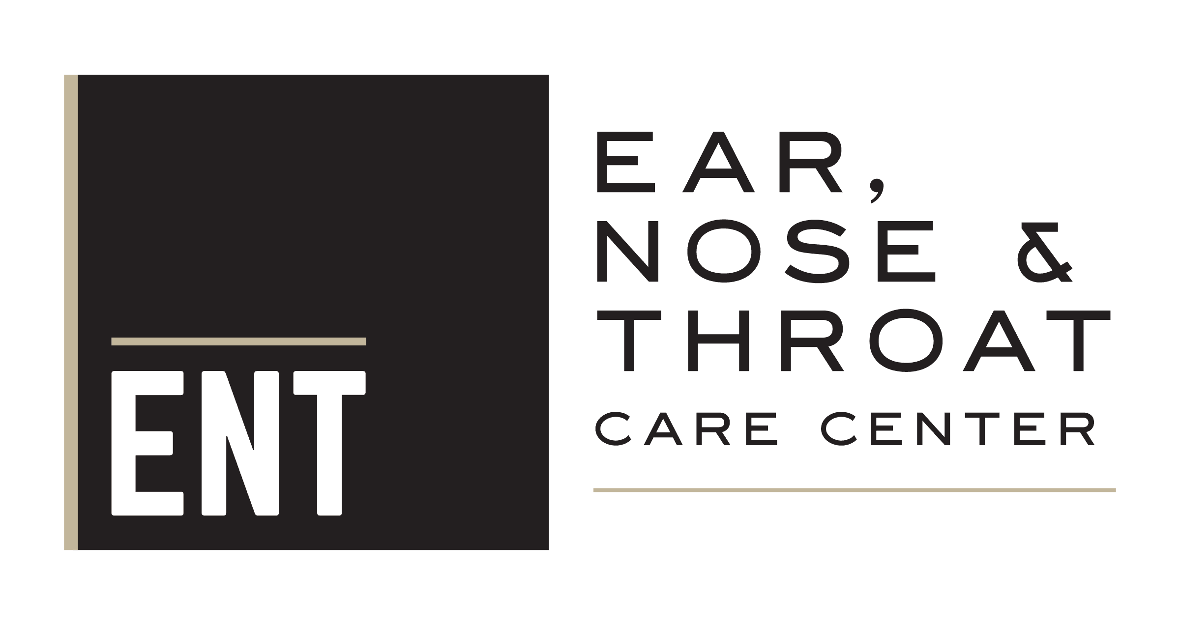 Ear, Nose + Throat Care Center Logo